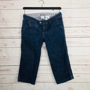 Columbia Crop Jeans Size 8